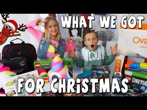 What we got for CHRISTMAS!!!!! GamerGirl / RonaldOMG