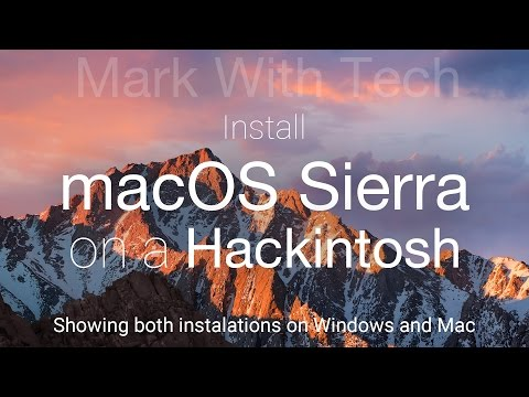 Install macOS Sierra 10.12 Developer Preview 8 (Beta 8) on a Hackintosh (Mac OS and Windows)