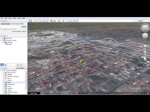 how to view shapefile on google earth