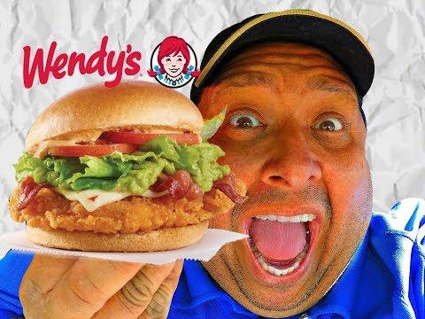 Wendy's® Southwest Avocado Chicken Sandwich REVIEW!