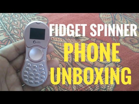 world's first Fidget spinner phone unboxing | hindi