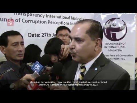 Malaysia slides down global corruption perception index