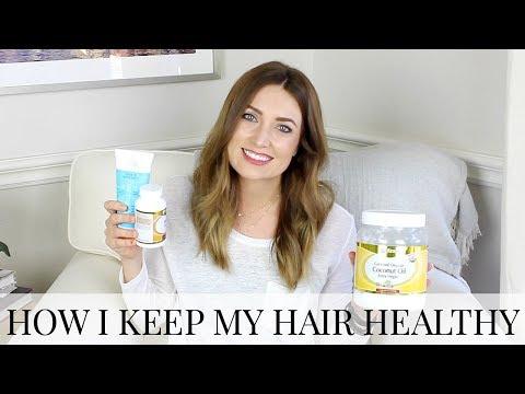 How I Keep My Hair Healthy: Growing Hair Out + Postpartum Hair Loss | Kendra Atkins