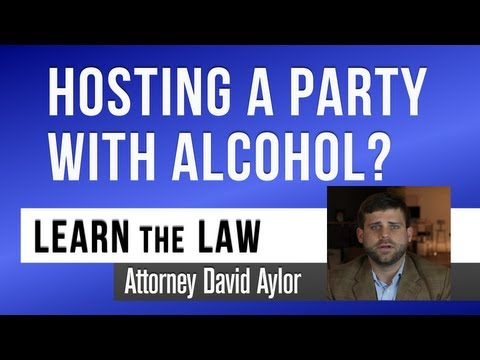 Serving Alcohol at a Party - You Should Know | Charleston SC DUI Lawyer | David Aylor