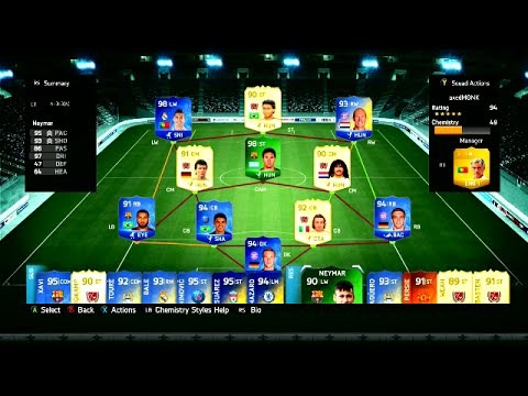 Every Single Expensive Player On Fifa 14 Ultimate Team 500 Million Coins