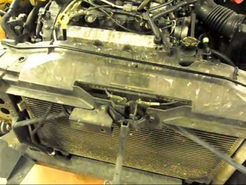 How to change the radiator on a 2003-2008 Mazda6.