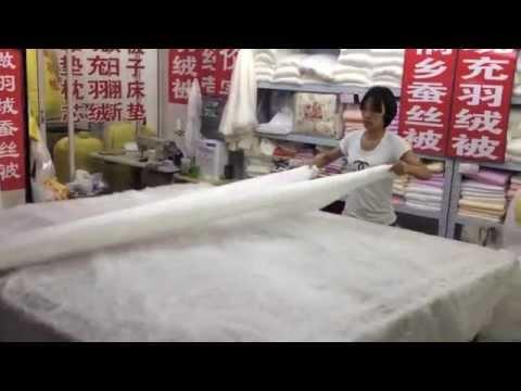 Making of Silk Blanket