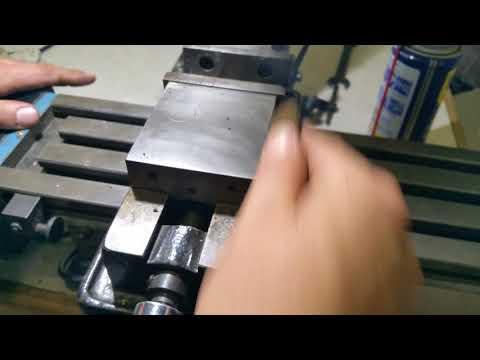LMS 3900 High Torque Mini Mill cleanup video trailer #1