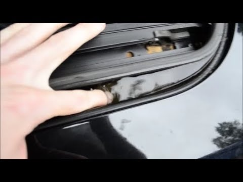 MINI Cooper Clogged Sunroof Drain - location and how to clear
