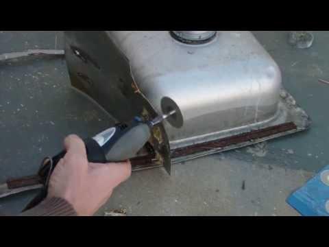$1 diamond dremel cutting disc vs: stainless, granite, aluminum, hardened steel