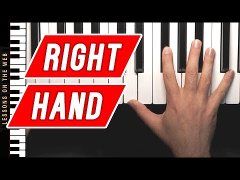 How to Improve Your Right Hand Piano Playing Tips and Exercise