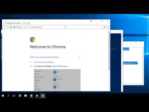 Install Chrome with PowerShell without starting Internet Explorer at all
