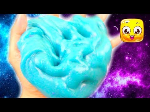 How To Make Glossy Jiggly Slime without borax! Slime recipes with contact solution, baking soda!