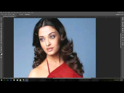 Curly Hair Cutting in Adobe Photoshop CC