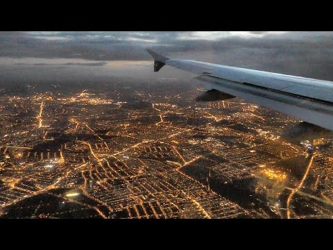 Full Flight Munich to London Heathrow. Sunset and Evening Landing. Lufthansa LH2478. Airbus A319-100