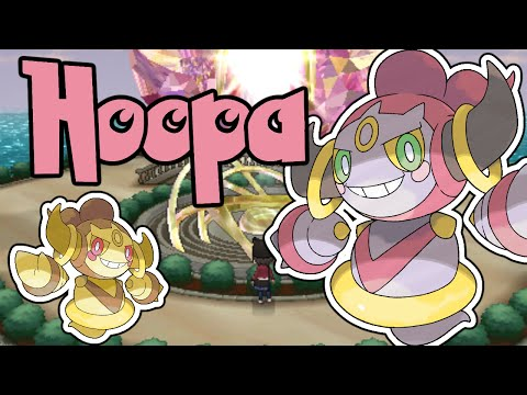 Shiny Hoopa Event Gameplay and Mysteries Solved Background Story in Pokemon X Y Hacked Powersaves