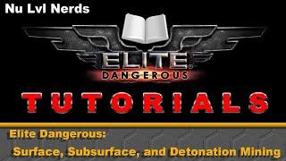 Elite Dangerous - COMPLETE Void Opal Mining Tutorial - From A-Z