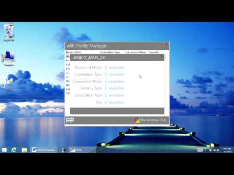 How to manage wireless network. Windows 8 & Windows 8.1