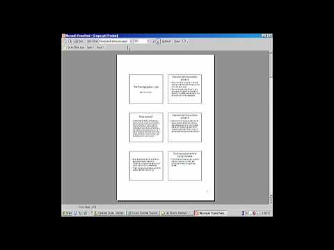 Printing a Powerpoint