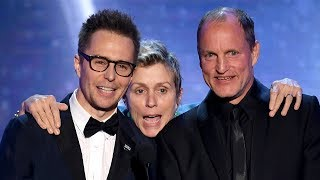 Three Billboards Celebrates Outstanding Cast WIN At 2018 SAG Awards