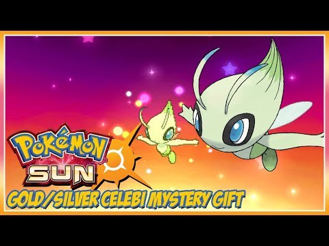 Pokémon Sun and Moon Gold/Silver Celebi Mystery Gift Event