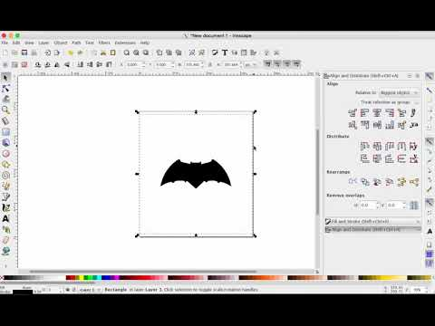 Inkscape: margins and saving your design as a PDF