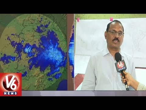 IMD Officer Rajarao Face To Face Over Sudden Change Of Weather Across State | V6 News