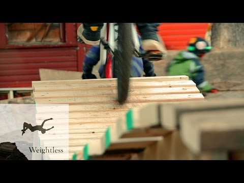 Backyard Bike Jumps 3: Winter Shredding