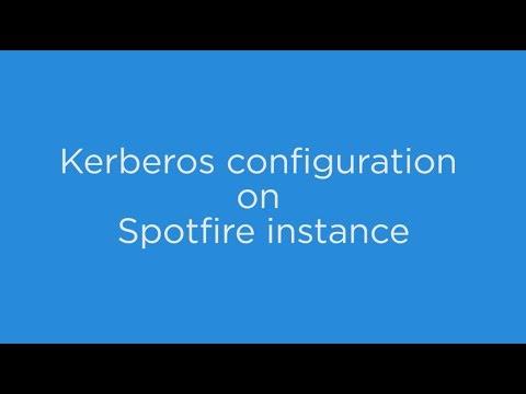 Kerberos configuration on Spotfire instance