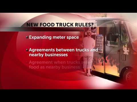 Food Trucks, Restaurant Groups Work To Develop Mutual Rules
