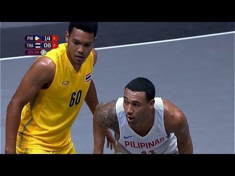 Semifinal Highlights Philippines Vs Thailand 3X3 Basketball M 2019 SEA Games