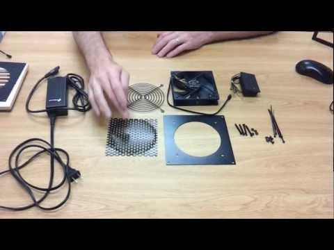 Basic Instructions Cabinet Cooling Kit 1201