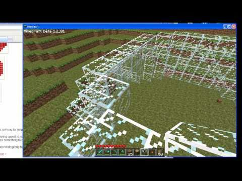 how to make a REAL minecraft dome