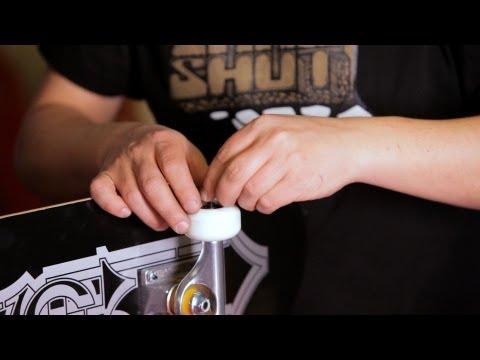 How to Mount Wheels w/out Bearing Press | Custom Skateboard