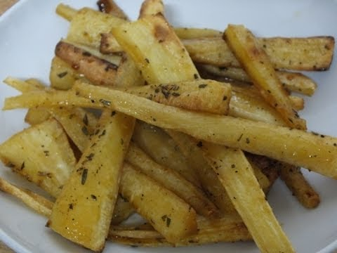 ROASTED PARSNIPS RECIPE WITH HONEY OR MAPLE SYRUP GLAGE & ROSEMARY HOW TO MAKE & PREPARE CHRISTMAS