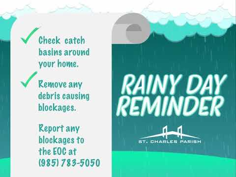 Rainy Day Reminder