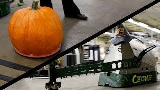 RC Pumpkin Combat Robot
