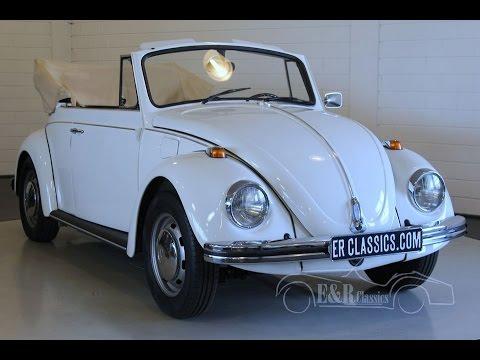 Volkswagen Beetle 1500 Cabriolet 1968 - VIDEO - www.ERclassics.com