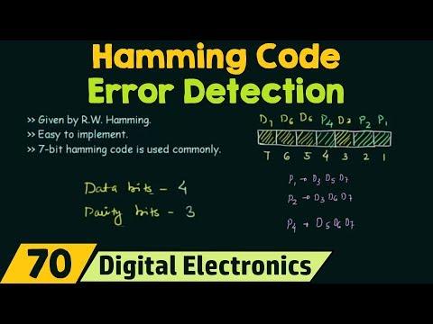 Hamming Code | Error detection