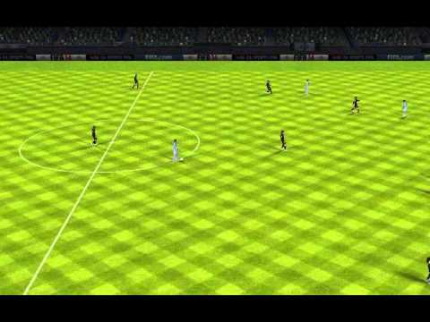 Golazo de tiro libre de Messi en fifa 14 android
