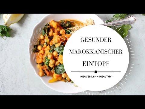 Marokkanischer Kichererbsen Eintopf | Heavenlynn Healthy & Kitchen Stories