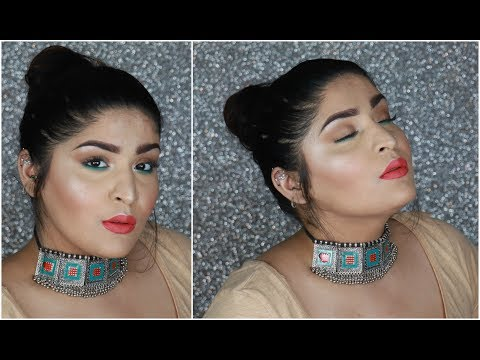 Affordable Ultra Glam Summer Makeup Tutorial | Everything Under Rs.500 With Tools! | Shreya Jain