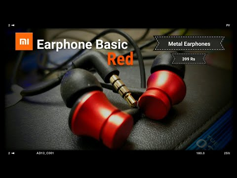 Mi Earphone Basic Red (Unboxing & Overview)