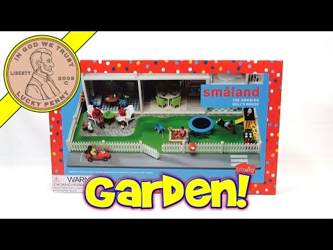 Lundby Doll House Garden Set, The Puppies Move In!