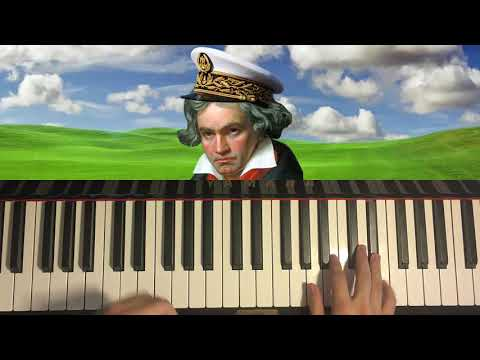Für Elise... but it's played in a happy MAJOR KEY!?