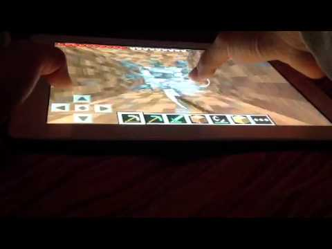 Let's Play Minecraft PE:Episode 2-Trollin' Armor!