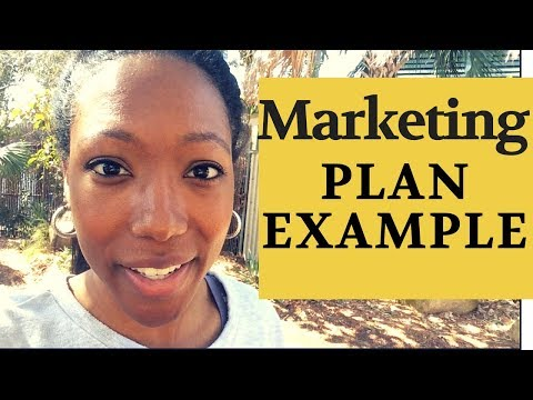 How To Create A Marketing Plan That Works; Free PDF And Example