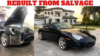 SALVAGE TO REBUILT Tips on Registration Inspection and The Process