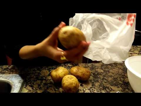 Boiling Potatoes in a Microwave