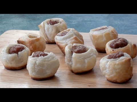 How to make Party Sausage Rolls